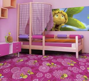 Kinderteppich Biene Maya